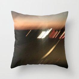 nightdrive 3 Throw Pillow