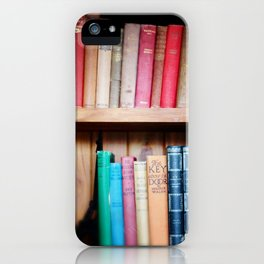 Old Library of love iPhone Case