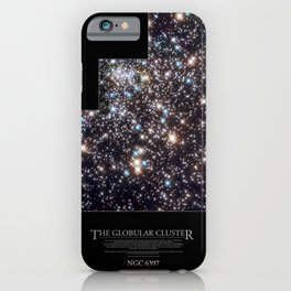NASA Hubble Space Telescope Poster - The Globular Cluster iPhone Case