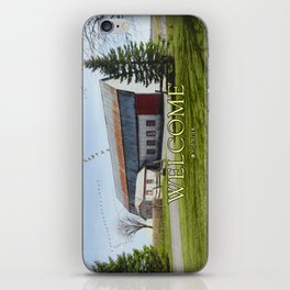 Barn & Geese - Welcome iPhone Skin