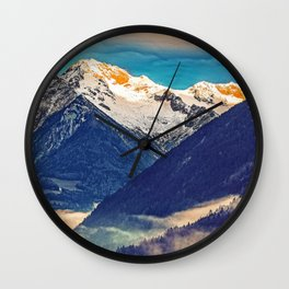 Valley Whispers #photography Wall Clock