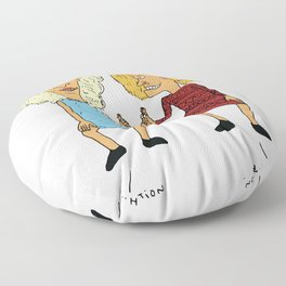 Beavis Mattel and Butthead Zamolodchikova Floor Pillow