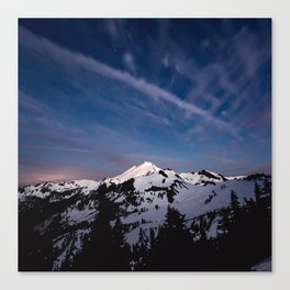 Mount Baker - Nature Photography Canvas Print