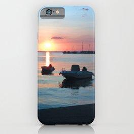 Little Port of Croatia iPhone Case