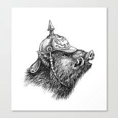 War Pig Canvas Print