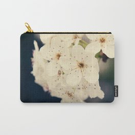 Bradford Pear Tree Flowers Carry-All Pouch