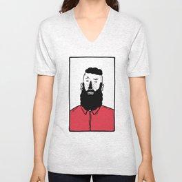 BearD Guy Unisex V-Neck