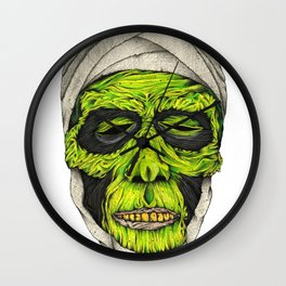 Mummy Head Wall Clock
