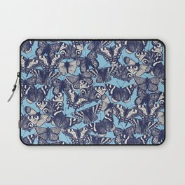 butterfly blue Laptop Sleeve