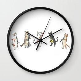 Reed Meowtet Wall Clock