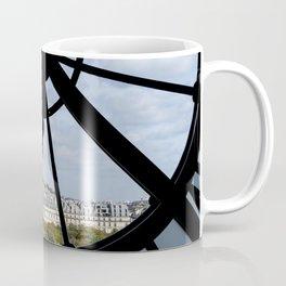 Paris from Musee d'Orsay Coffee Mug