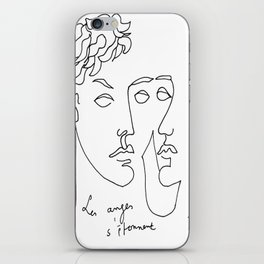 Jean Cocteau Homme  iPhone Skin