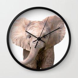 Cute Baby Elephant Wall Clock