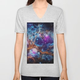 Lobster Nebula Unisex V-Neck