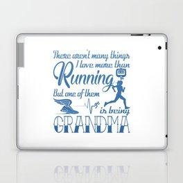 Running Grandma Laptop & iPad Skin