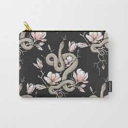 Magnolia and Serpent Carry-All Pouch