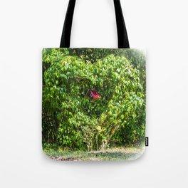 Heart Bush Tote Bag