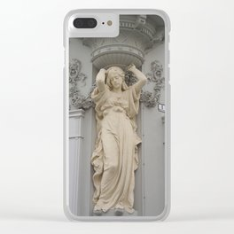 Sculture Channel Clear iPhone Case