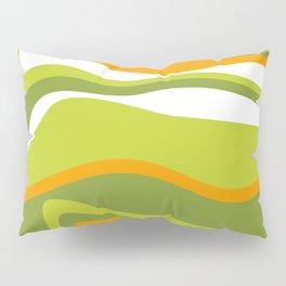 Pesto Orange and green Pillow Sham