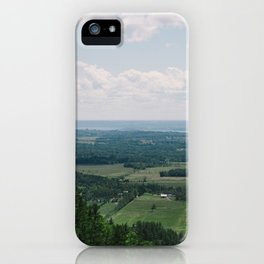 Canadian Mountain Lookout iPhone Case
