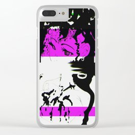 Thirsty Artist Clear iPhone Case