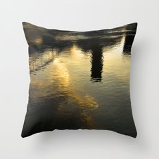 Reflection of Tortosa Throw Pillow