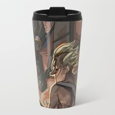 Death Growls and Punching The Guitar Travel Mug