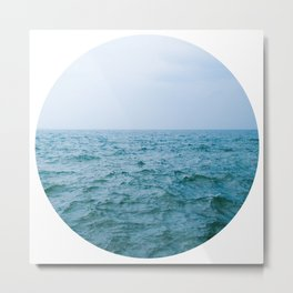 Nautical Porthole Study No.3 Metal Print