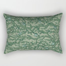 the singing forest - soft green Rectangular Pillow