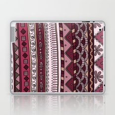 Yzor pattern 004 lilac Laptop & iPad Skin