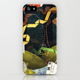 Rain Ribbons iPhone Case