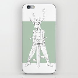 Weird & Wonderful: Racing Reindeer iPhone Skin
