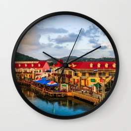 roatan Wall Clock