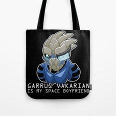 Garrus Vakarian Is My Space Boyfriend Tote Bag