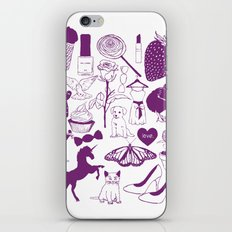 Sugar and spice and everything nice. iPhone & iPod Skin