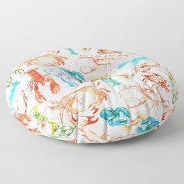 Spring Yeah! - Lobster&Crabs Floor Pillow