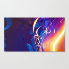 Chaos and Lines - Intro to Lightfight Canvas Print