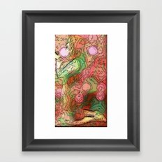 Topography of the Body Framed Art Print