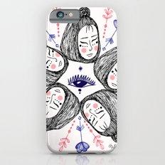 Mandala faces Slim Case iPhone 6s