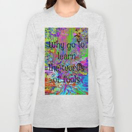 It's All Too Beautiful - Psychedelic Stream Long Sleeve T-shirt