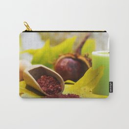 A relaxing hot bath Carry-All Pouch
