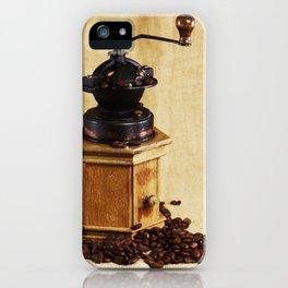Coffee grinder NO.2 iPhone Case