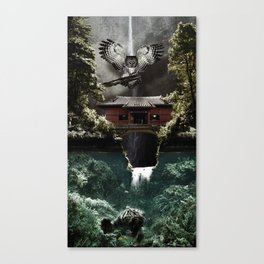 Deeply Disturbed Canvas Print