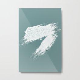 ANGER - blue palette Metal Print