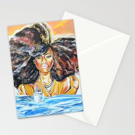 lost without u Stationery Cards