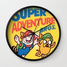 Super Adventure Bros Wall Clock