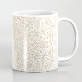 Gold Mandala Coffee Mug