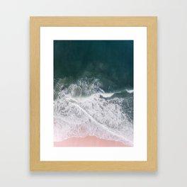 Beaches and Cream Framed Art Print