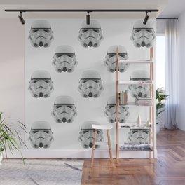 Polygon Stormtrooper Wall Mural