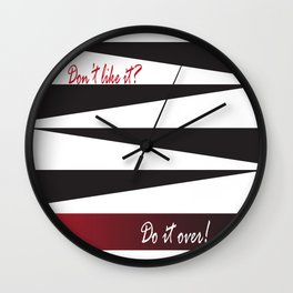 Do it over! Wall Clock